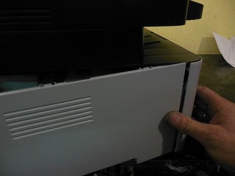 Samsung Xpress M2070w снятие боковой крышки
