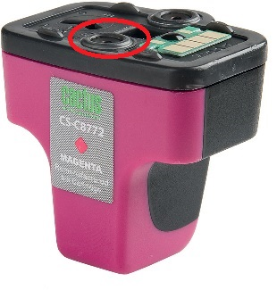 Заправка картриджа HP 177 цветного