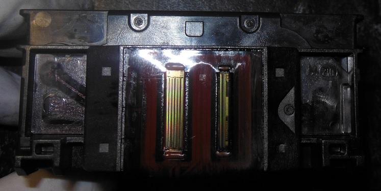 Печатающая головка HP строение