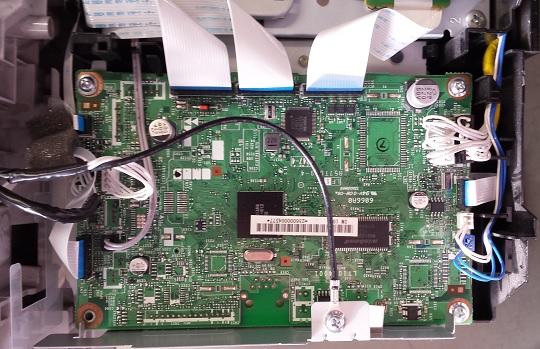 замена USB в МФУ Brother
