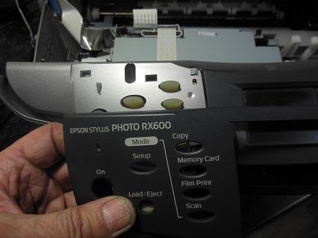 разборка МФУ Epson RX600