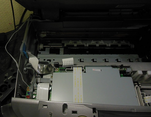 разборка Epson RX600 2