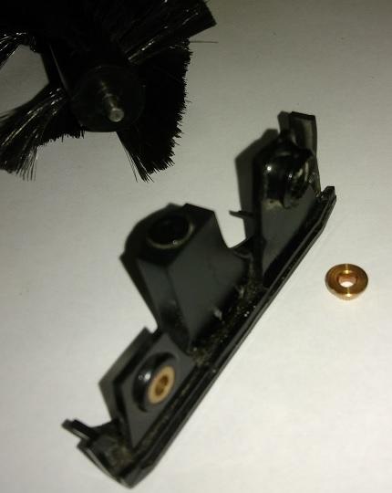 Xrobot 510 расплавилась опора щеток