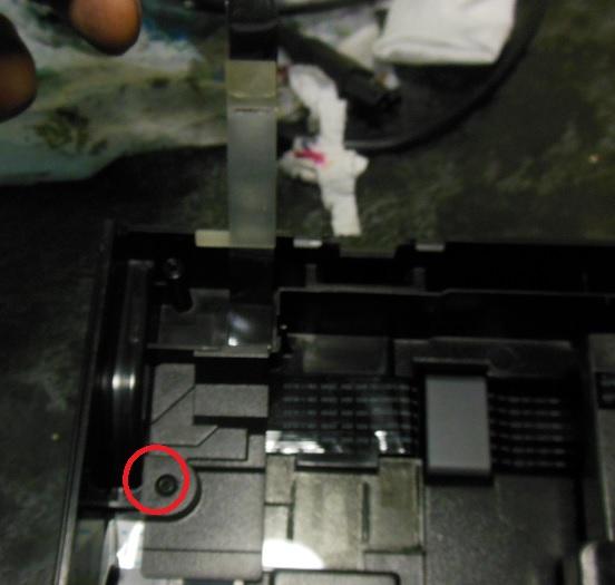 замена шлейфа автоподатчика HP LJ 1536dnf