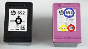 заправка HP 651 652
