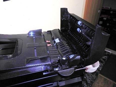 разборка и ремонт автоподатчика HP LJ 1536dnf