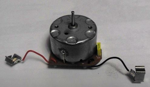 Неисправный двигатель пылеприемника робот-пылесоса A320