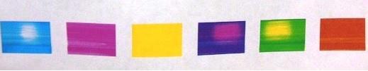 некачественная струйная печать - временное пропадание чернил