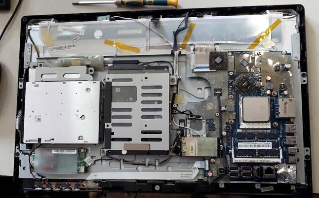 Замена видеочипа в моноблоке
