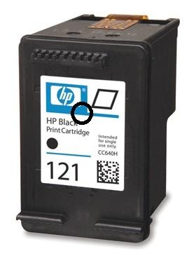 Заправка HP 121 черного
