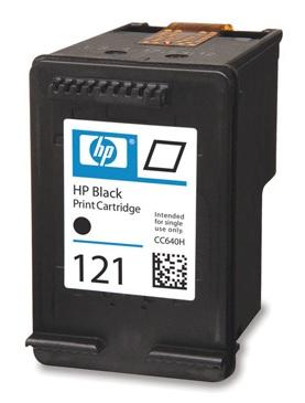 Заправка черного струйного картриджа HP с головкой