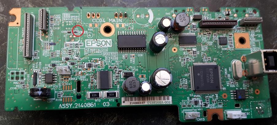 Epson ошибка 0x9A
