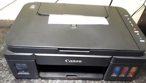 8 миганий Canon G3400