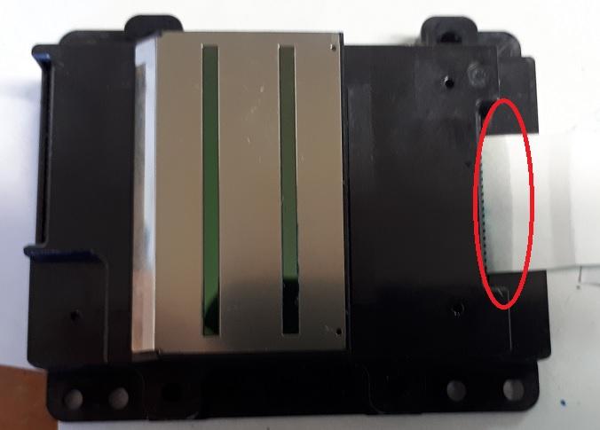 сушка разъемов печатающей головки
