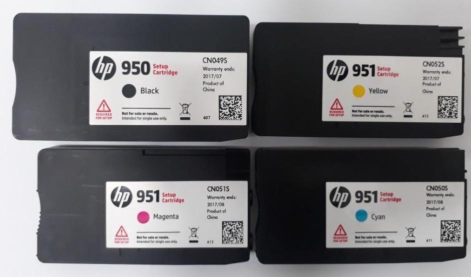 950-951 setup cartriges