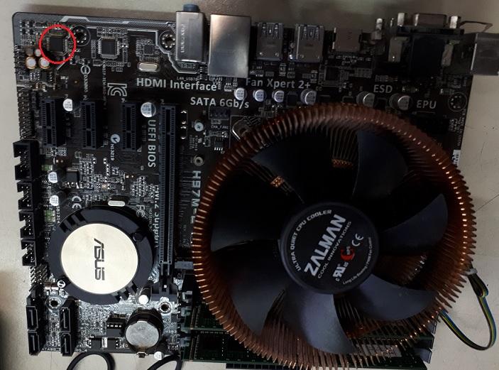 ремонт звука на материнской плате компьютера
