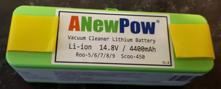 Li-Ion батарея для всех серий iRobot Roomba 4400 mAh