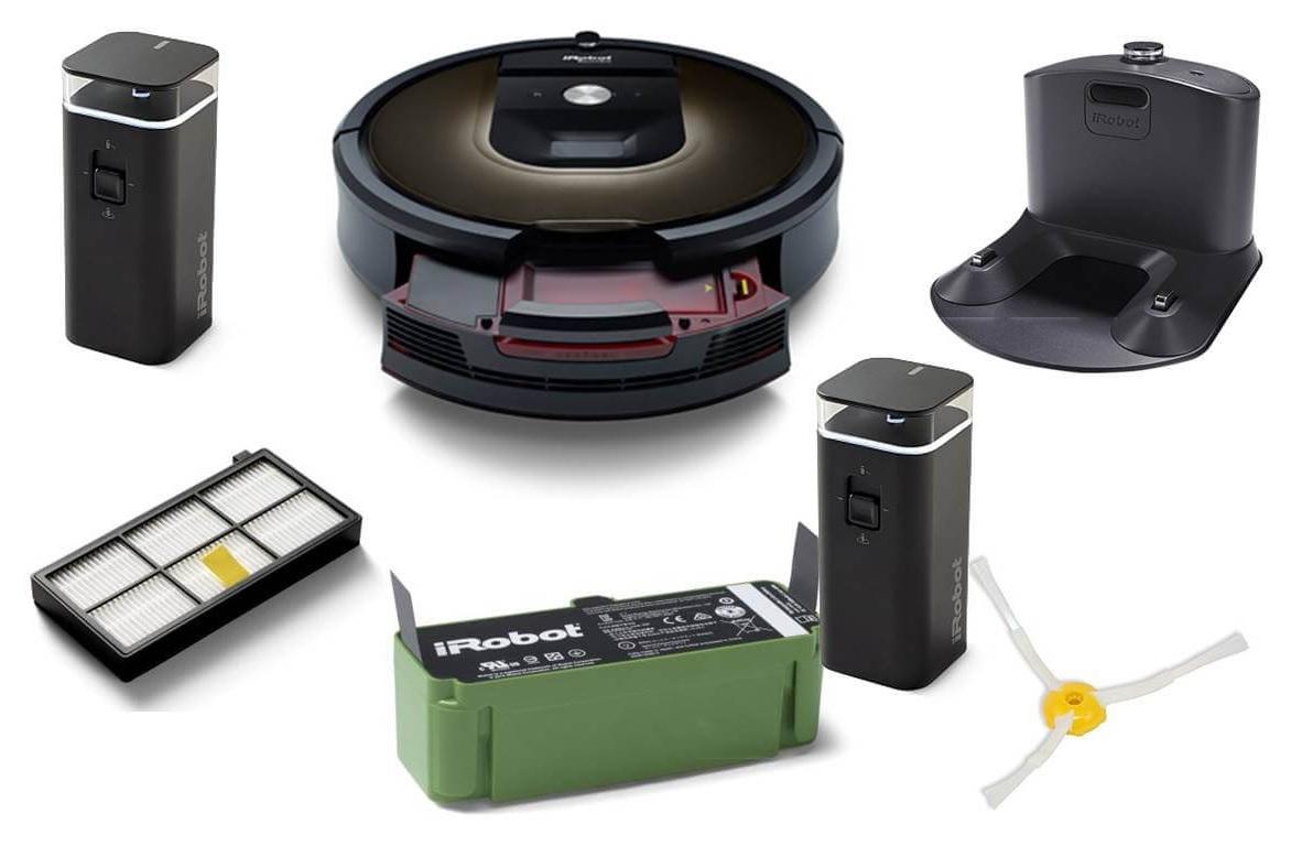 комплект поставки Roomba 980