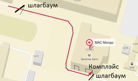 проход к Комплэйс с Кировоградской ул.