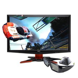 NVIDIA 3D Vision Glasses + ACER GD245HQbid 3D