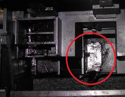 Причины поломки шестерни в принтере HP