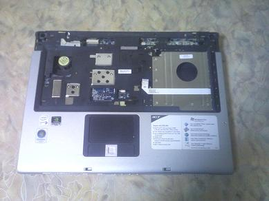 верхняя крышка базы ноутбука