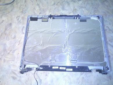 крышка экрана, вид изнутри
