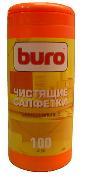 универсальные салфетки для чистки ноутбука Buro