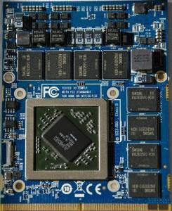 Ремонт видеокарт ноутбуков Acer mxm