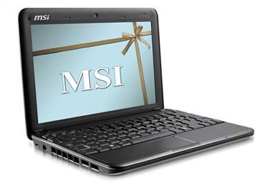 msi-netbook U100 БУ