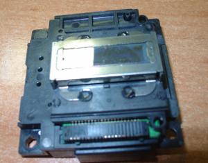 плохая печать струйного принтера - засохла головка