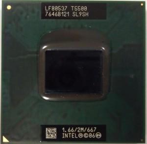T5500 процессор для ноутбука