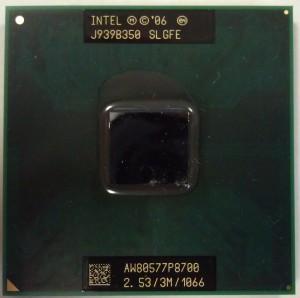 P8700  процессор для ноутбука