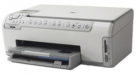 HP Photosmart C5183 замятие бумаги
