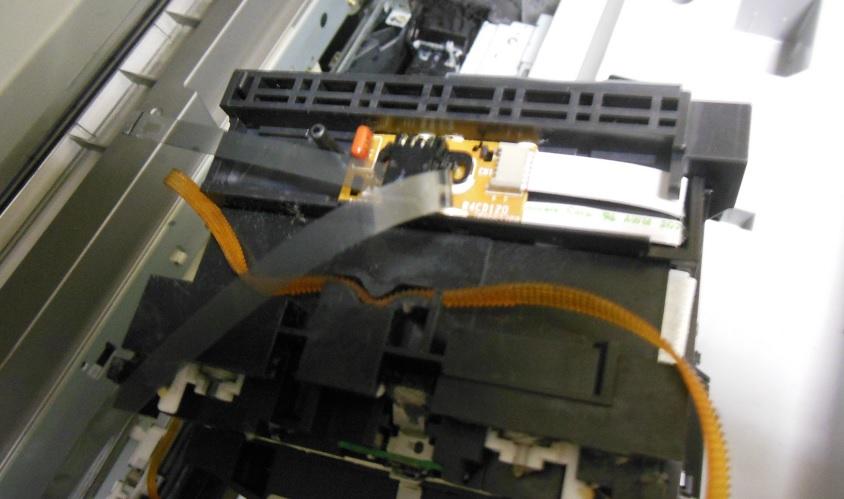 ремонт каретки Epson XP413