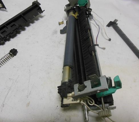 Повреждение термопленки - принтер мажет, плохо печатает