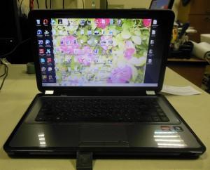 HP ноутбук после ремонта