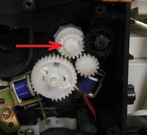 ремонт ручной подачи Samsung scx-4100 копирует пол листа