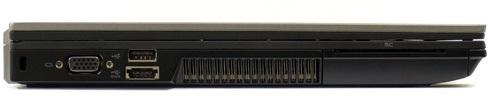 Dell Lattitude E6410 вид слева