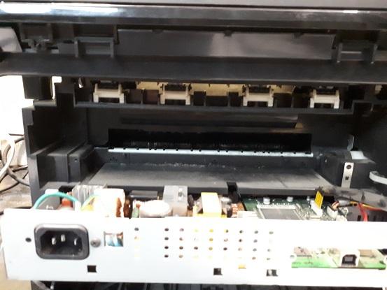 Samsung SCX4300 жует бумагу ремонт печки