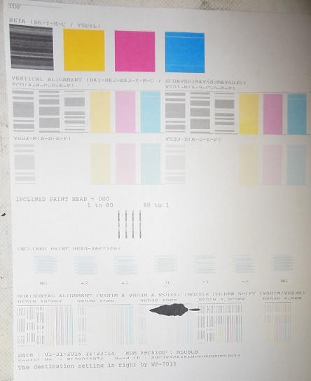 дефекты струйной печати