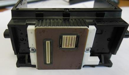 Принтер Canon плохо печатает - засохла головка