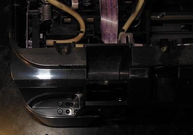 отвинчиваем винты верхней крышки сзади слева