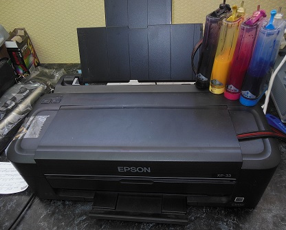 ремонт принтера epson xp-33 мигают все индикаторы