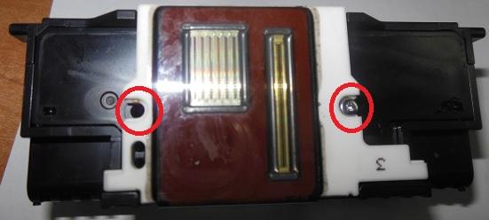 Чистка печатающей головки Canon