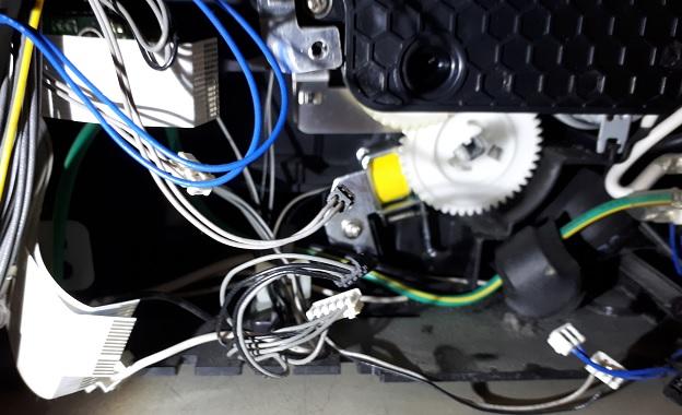 ремонт соленоида подачи бумаги Samsung CLP-315