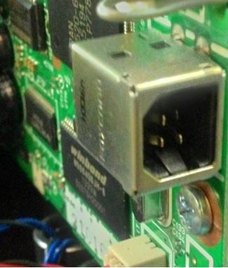 ремонт разъема принтера