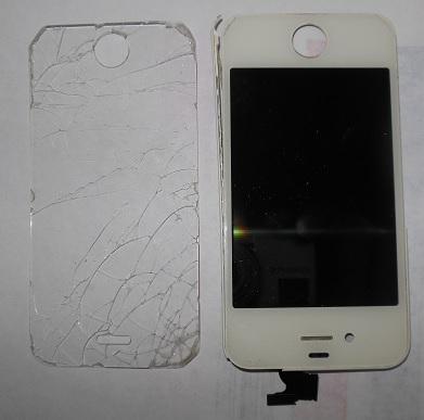 замена тачскрина и матрицы iphone