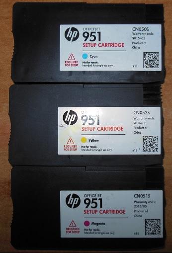 заправка картриджей HP 951