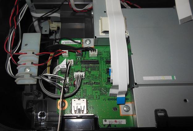 разборка и ремонт Epson TX-650